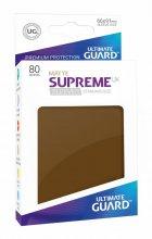 Ultimate Guard: Supreme Sleeves UX - Matte Brown / Braun...