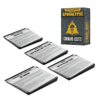 Warhammer 40000 Apocalypse: Kommandooptionen (DE)