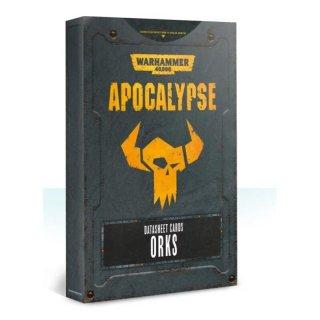 Warhammer 40000 Apocalypse: Datasheet Cards Orks (EN)