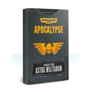 Warhammer 40000 Apocalypse: Datasheet Cards Astra Militarum (EN)