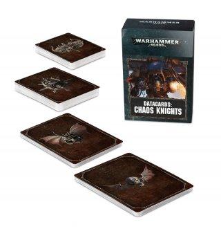 Warhammer 40.000: Datacards - Chaos Knights (EN)