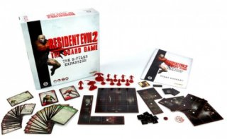 Resident Evil 2 - The Board Game: The B-Files Expansion (EN)