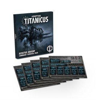 Adeptus Titanicus - Acastus Knight Command Terminal Pack (DE)