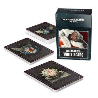 Warhammer 40.000: Datacards - White Scars (ENG)