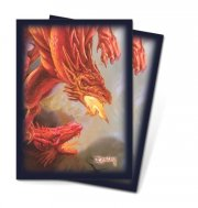 Art-Hüllen Red Dragon Standard Size (50 Stk)