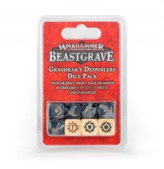 Warhammer Underworlds: Beastgrave - Grashraks Despoilers Dice Pack