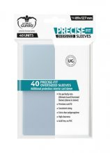 Precise-Fit Sleeves Oversized 89x127mm (Transparent) (40
