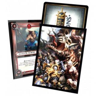 Art-Hüllen Warhammer Age of Sigmar Champions Order vs. Death Standard Size (40 Stk)
