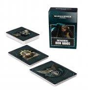 Warhammer 40.000: Datakarten - Iron Hands (DE)