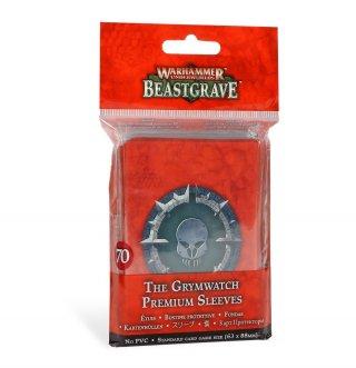 Warhammer Underworlds: Beastgrave - The Grymwatch Standard Size Kartenhüllen / Premium Sleeves (70 Stk)