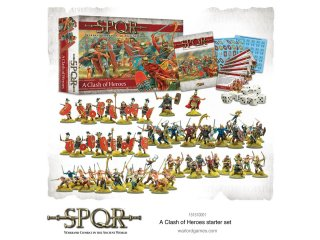 Warlord Games: SPQR - Starter Set: A Clash of Heros