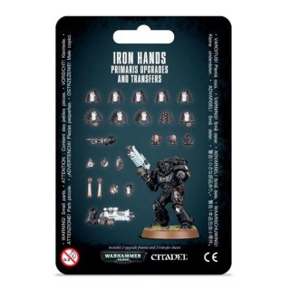 Warhammer 40.000: Space Marines - Iron Hands: Primaris Upgrades and Transfers