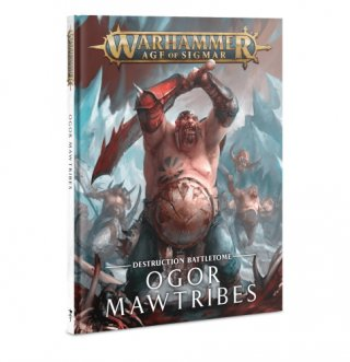 Warhammer Age Of Sigmar: Battletome der Zerstörung - Orgor Mawtribes Hardcover (DE)