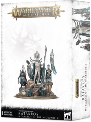 Warhammer Age Of Sigmar: Ossiarch Bonereapers - Katakros, Mortarch of the Necropolis