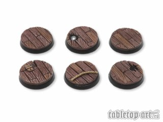 Pirate Ship Bases - 25mm (5)