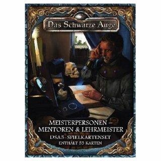 DSA5: Spielkartenset - Meisterpersonen Mentoren und Lehrmeister (DE)