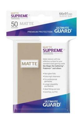 Supreme UX Sleeves Standard Size Matte (Sand) 50 Stk