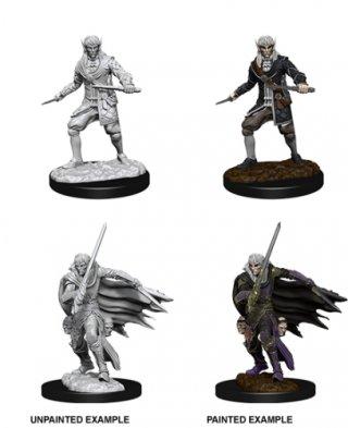 Wizk!dz Deep Cuts - Pathfinder Battles: Male Elf Rogue (2)