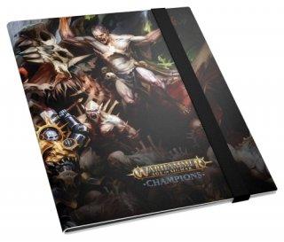Ultimate Guard: Flexxfolio™ Warhammer Age of Sigmar: Champions 18-Pocket Order vs. Death
