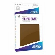 Supreme UX Sleeves Japanese Size Matte (Brown) 60 Stk