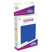 Supreme UX Sleeves Japanese Size Matte (Royal Blue) 60 Stk