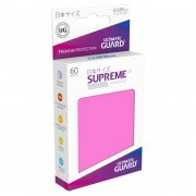 Supreme UX Sleeves Japanese Size (Pink) 60 Stk
