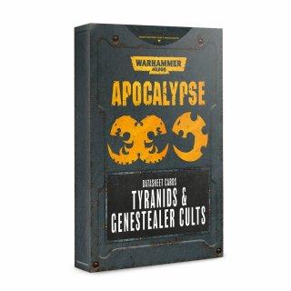 Warhammer 40000 Apocalypse: Datasheet Cards Tyranids & Genestealer Cults (EN)