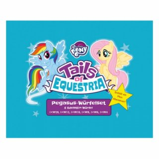My Little Pony: Tails of Equestria - Pegasus-Würfelset (DE)
