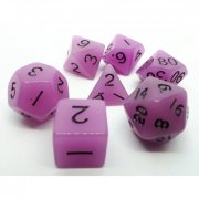 Dice 4 Friends - Würfelset Glow-Purple