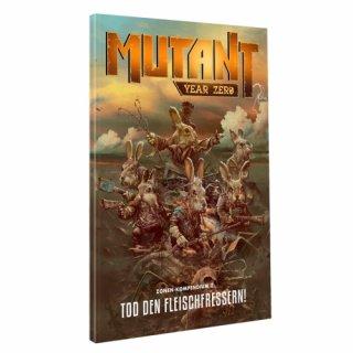 Mutant - Jahr Null: Zonenkompendium 3 - Tod den Fleischfressern! (DE)