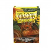 Dragon Shield - Standard Tangerine Matte (100)