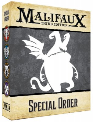 Malifaux - Elijah Borgmann & Firebranded