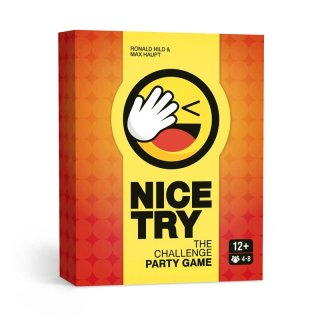 Nice Try - The Challenge Party Game (EN)