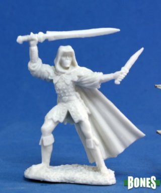 Dark Heaven Bones - Danar, Male Assassin