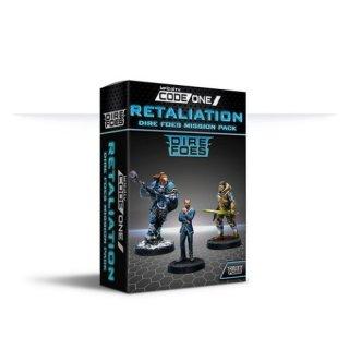 Corvus Belli: Infinity - Code One Retaliation Dire Foes Mission Pack