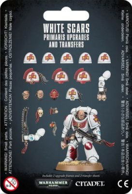 Warhammer 40.000: Space Marines - White Scars Primaris Upgrades and Transfers