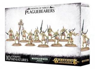 Warhammer Age Of Sigmar: Daemons of Nurgle - Plaguebearers