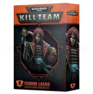 Warhammer 40.000 Kill Team - Feodor Lasko Kommandeursset des Astra Militarum (DE)