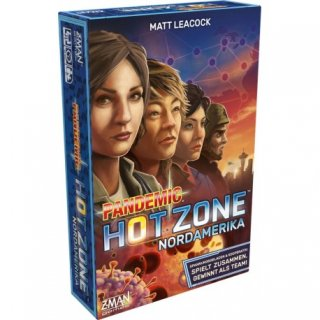 Pandemic Hot Zone: Nordamerika (DE)
