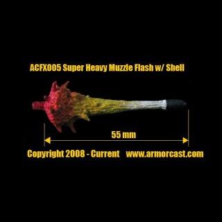 Super Heavy Muzzle Flash /w Shell / Sehr Schwere Mündungsfeuer (2 Teile)