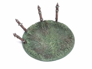 War Contraption Bases 60mm Thorn Wall Round (1 Stk)