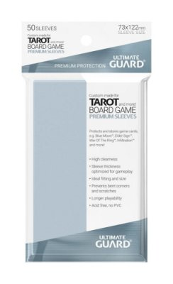 Premium Soft Sleeves Game Cards Tarot Size 73x122mm (50 Stk)