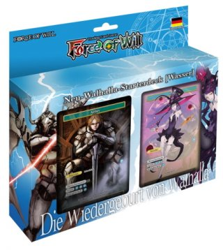 Force of Will - Neu-Walhalla-Starterdeck (Wasser) DE