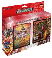 Force of Will - Neu-Walhalla-Starterdeck (Feuer) DE