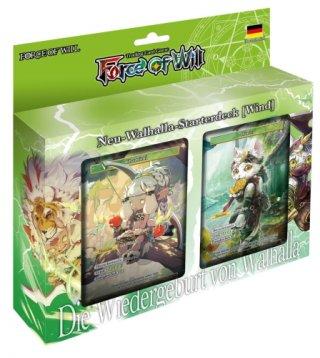 Force of Will - Neu-Walhalla-Starterdeck (Wind) DE