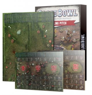 Blood Bowl - Double-Sided Snotling Pitch and Dugout Set (Englisch)