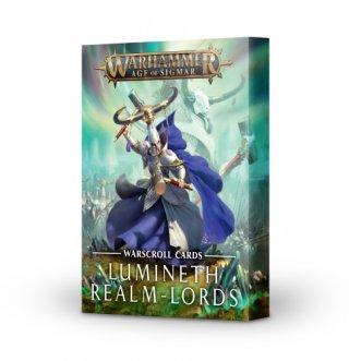 Warhammer Age Of Sigmar: Lumineth Realm-Lords - Schriftrollen-Karten (DE)