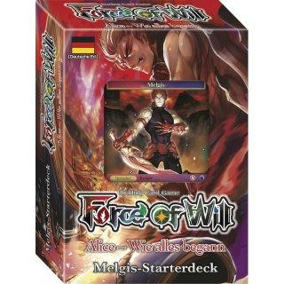 Force of Will - Alice - Wie alles begann - Melgis-Starterdeck (DE)