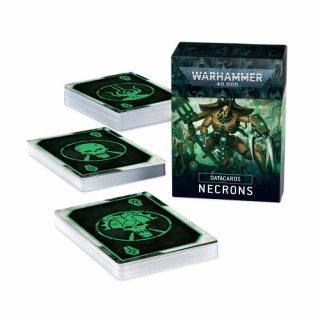 Warhammer 40.000 Necrons Datakarten