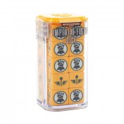 Warhammer 40.000: Imperial Fists Dice Set